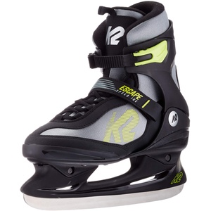 K2 Skates Herren Schlittschuhe Escape Speed Ice M — black - grey - yellow — EU: 41.5 (UK: 7.5 / US: 8.5) — 25C0110