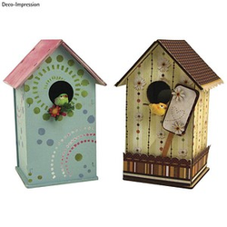 Rayher Holzbausatz Vogelhaus