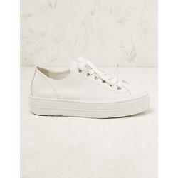 Paul Green Damen Leder-Sneaker Binta weiß