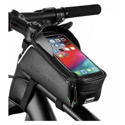 ROCKBROS Fahrradtasche Fahrrad Rahmentasche XL Fahrradtasche Oberrohrtasche für 6,5'' Handys