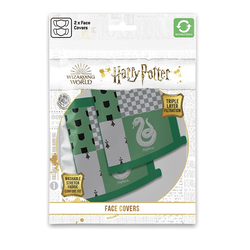 Mund-Nasen-Bedeckung - Harry Potter - Slytherin - 2er Pack