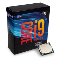 Intel® Prozessor S1151 CORE i9-9900K - Prozessor - schwarz