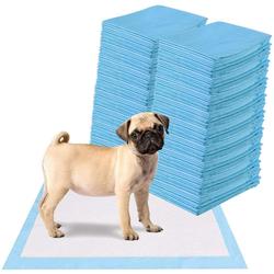COSTWAY Hundematte Trainingunterlage Hunde Welpenunterlage Puppy Hygieneunterlagen Einwegpad PIPI-Pad 60 cm x 60 cm