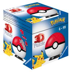 Ravensburger - Pokémon Pokéballs - Pokéball Classic 54 Teile