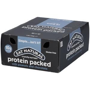 EAT Natural Nussriegel Schoko-Erdnuss 12x45 g Riegel