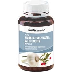 SOVITA med KMW Knoblauch-Mistel-Weißdorn Kapseln