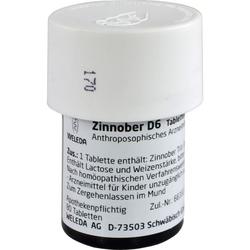 ZINNOBER D 6 Tabletten 80 St.