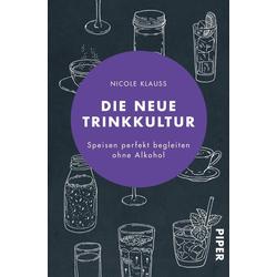 Die neue Trinkkultur: Taschenbuch von Nicole Klauß