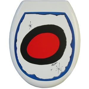 ADOB 81136 Thermoplast WC Sitz Klobrille Motiv MB Painting