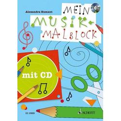 Mein Musik-Malblock