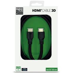 BigBen Bigben HQ HDMI-Kabel 1.4 3D 4K UHD Ethernet für HD TV Blu-Ray Xbox One 360 PS4 HDMI-Kabel, HDMI Typ A, HDMI Typ A (200 cm), 2 Meter
