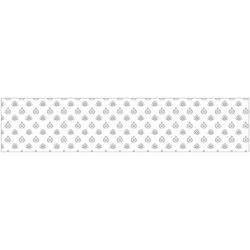 Küchenrückwand fixy Romina weiß 280 cm