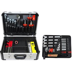 FAMEX Werkzeugset 729-94, (Set, 48-St), im Werkzeugkoffer