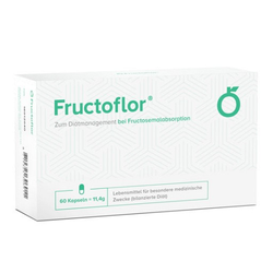 FRUCTOFLOR Fructose Intoleranz & Malabsorption Kps 60 St