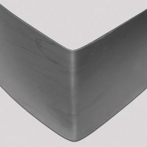 bellissa Rasenkante aus Kunststoff - 99682 - Anthrazit, UV-beständig und robust - inkl. Verbindungsteile, 118 x 13 cm, Nutzlänge 1,15 m