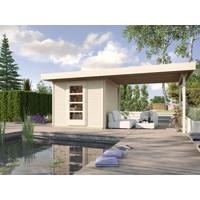 weka Designhaus wekaLine 172 B 5,00 x 2,10 m natur