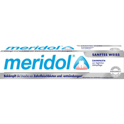 MERIDOL sanftes Weiss Zahnpasta 75 ml