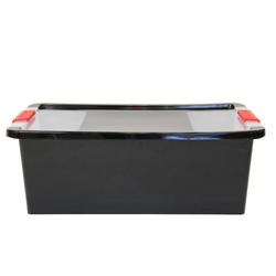 ONDIS24 Aufbewahrungsbox Aufbewahrungsbox mit Deckel Klipp Box M Lagerbox 24 Liter