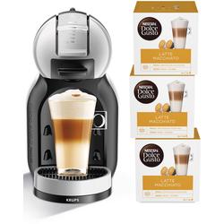 ®  ® Kapselmaschine KP123B Mini Me, Kaffeemaschine, 45304768-0 grau Tassenanzahl: 1 grau