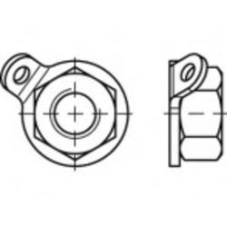 TOOLCRAFT TO-5380407 Unverlierbarkeitsmuttern M10 88153 Edelstahl A2 10St.