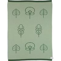 Sterntaler® Sterntaler®, Babydecke Strick, mit feinen Blattmotiven grün