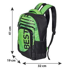 BESTLIFE Rucksack BREVIS mintgrün mit Laptopfach bis 15,6 Zoll