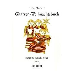 Gitarren-Weihnachtsbuch zum Singen und Spielen  für Gesang u. Gitarre und 2 Gitarren - Buch