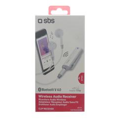 SBS Wireless Audio Receiver CLIP RECEIVER kabellos Kopfhörer integrierte Steu...