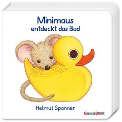 Minimaus entdeckt das Bad als Buch von Helmut Spanner