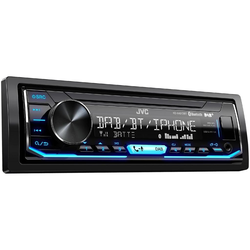 JVC Audio-System (JVC KD-X451DBT, DAB+, Bluetooth, USB, Android, iPhone, Spotify, Autoradio)