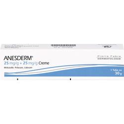 ANESDERM 25 mg/g + 25 mg/g Creme 30 g