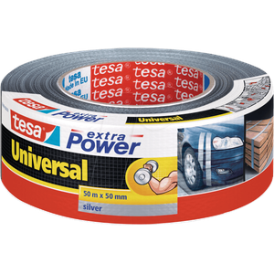 TESA 56389 SI - Folienband tesa extra Power® Universal, 50 m x 50 mm, silber