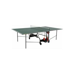 Sunflex Tischtennisplatte Hobby Indoor mit Tischtennisnetz grün
