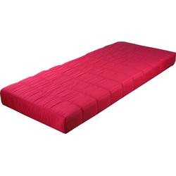 Jugendmatratze, Breckle, 12 cm hoch rosa 90 cm x 190 cm x 12 cm
