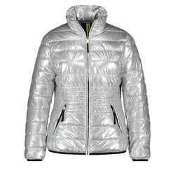 Steppjacke im Metallic-Look Samoon Silver Metal