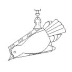 Sauter 281-891 Vogelwiegekonus für Federwaagen (50–500 g)