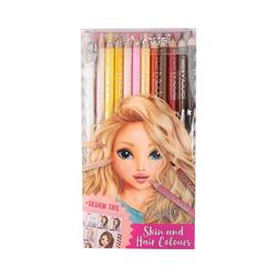 Depesche Buntstift TOPModel Buntstifteset, Haut- und Haartöne