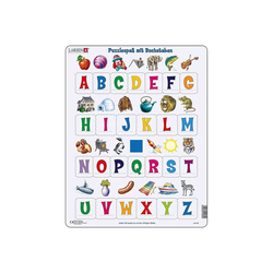 Larsen Puzzle Rahmen-Puzzle, 26 Teile, 36x28 cm, Puzzlespaß mit, Puzzleteile