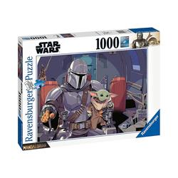 Ravensburger Puzzle Puzzle Star Wars: Mandalorian, 1.000 Teile, Puzzleteile