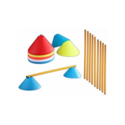 Jumbo Hütchen - Hürdenset (10 Hürden)