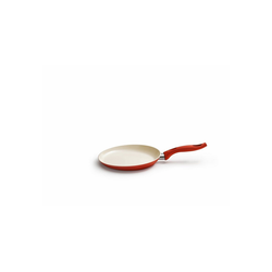 Kelomat Bratpfanne Palatschinkenpfanne Ceramic Induktion Rot, Edelstahl (1-tlg)