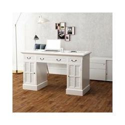 Schreibtisch Sekretär Weiß 140 x 48 x 80 cm