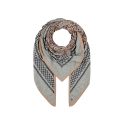 Premium Dreieckstuch mit Wolle und Kaschmir Codello grey