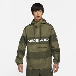 Nike Air Herren-Anorak ohne Futter - Braun, size: M