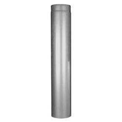 Ø 150 mm Edelstahlrohr 2 mm - Länge 100 cm