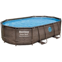 Bestway Power Steel Swim Vista Series Frame Pool oval