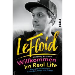 Willkommen im Real Life als Buch von Le Floid/ LeFloid