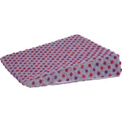 Linke Licardo Keilkissen Punkte, aus reiner Schurwolle silberfarben Sitzkissen Kissen