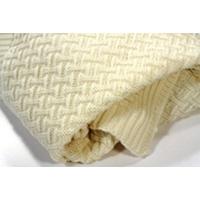 Sonnenstrick Kuscheldecke Babydecke Puckdecke aus 100% Bio Merino Schurwolle made in Germany 80 x 90 cm