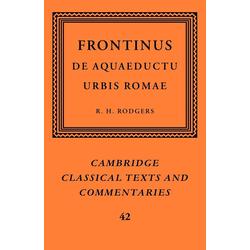 Frontinus als Taschenbuch von Frontinus Frontinus